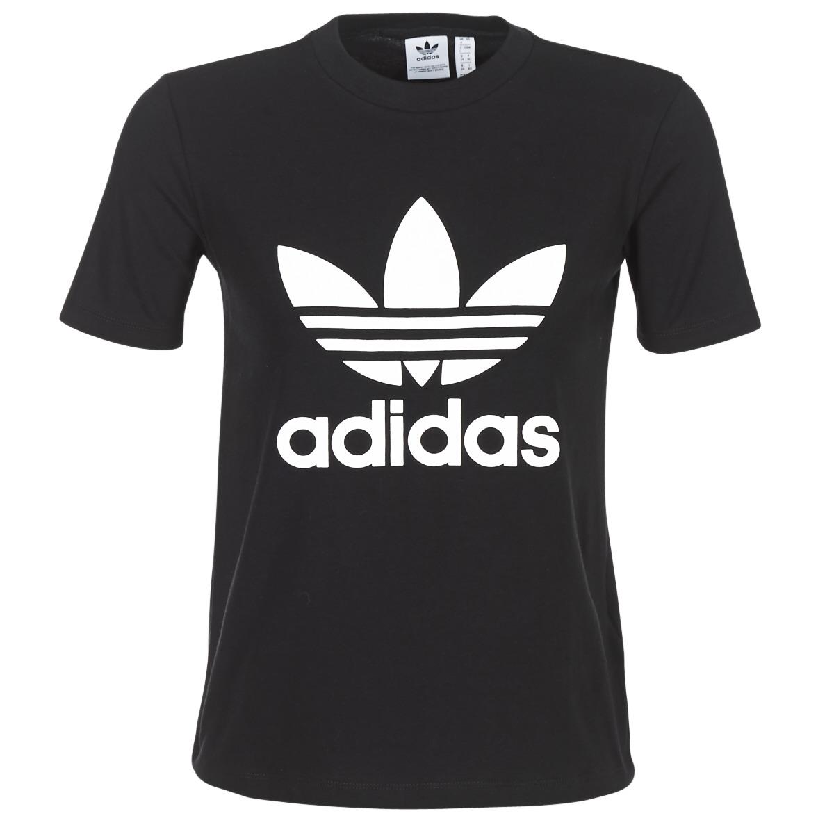 Lyhythihainen t-paita adidas TREFOIL TEE