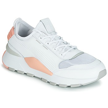kengät Naiset Matalavartiset tennarit Puma WN RS-0 SOUND.WH-PEACH White / Grey / Pink