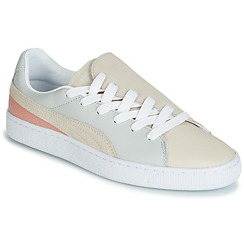 kengät Naiset Matalavartiset tennarit Puma WN BASKET CRUSH PARIS.GRAY Beige