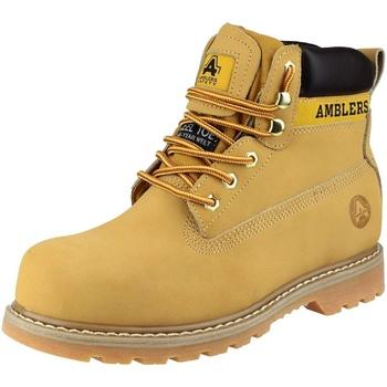 kengät Naiset Bootsit Amblers FS7 Honey