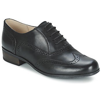 kengät Naiset Herrainkengät Clarks HAMBLE OAK Black