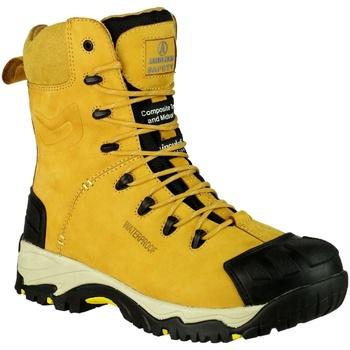 kengät Miehet Turvakenkä Amblers FS998 Safety Zips Honey