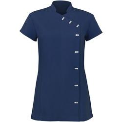 vaatteet Naiset Lyhyt mekko Alexandra AX003 Navy