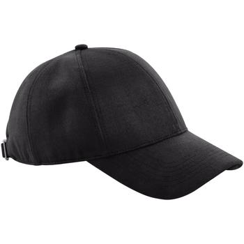 Asusteet / tarvikkeet Lippalakit Beechfield B656 Black