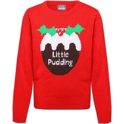 vaatteet Tytöt Neulepusero Christmas Shop CS135 Red