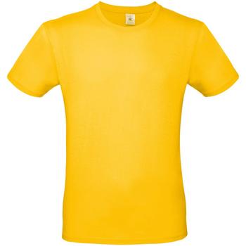 vaatteet Miehet Lyhythihainen t-paita B And C TU01T Gold