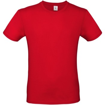 vaatteet Miehet Lyhythihainen t-paita B And C TU01T Red
