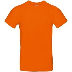 vaatteet Miehet Lyhythihainen t-paita B And C TU03T Orange
