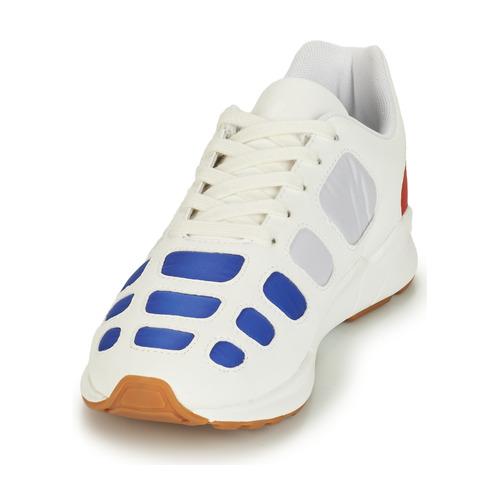 Le Coq Sportif Zepp White / Blue Red - Ilmainen Toimitus- Kengät Matalavartiset Tennarit Miehet 67