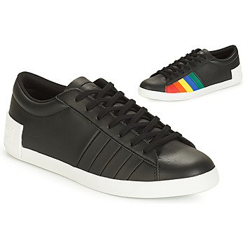 kengät Naiset Matalavartiset tennarit Le Coq Sportif FLAG Black / Multicolour