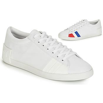 kengät Naiset Matalavartiset tennarit Le Coq Sportif FLAG White
