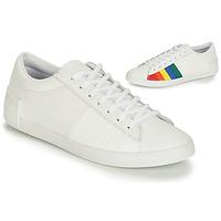 kengät Naiset Matalavartiset tennarit Le Coq Sportif FLAG White / Multicolour