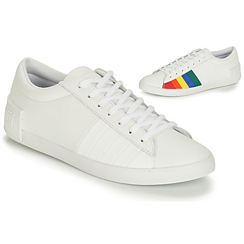 kengät Naiset Matalavartiset tennarit Le Coq Sportif FLAG White / Monivärinen