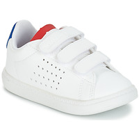 kengät Lapset Matalavartiset tennarit Le Coq Sportif COURTSET INF White / Blue / Red
