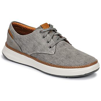 kengät Miehet Matalavartiset tennarit Skechers MELFIS Grey