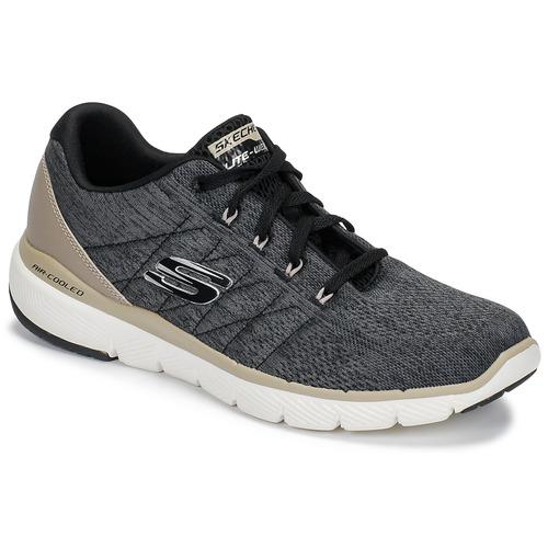 kengät Miehet Fitness / Training Skechers FLEX ADVANTAGE 3.0 Black