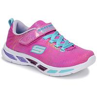 kengät Tytöt Matalavartiset tennarit Skechers LITEBEAMS Pink