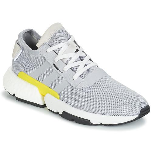 kengät Miehet Matalavartiset tennarit adidas Originals POD-S3.1 Grey