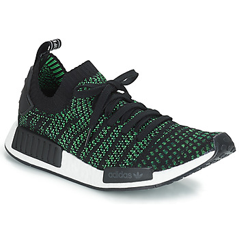 kengät Matalavartiset tennarit adidas Originals NMD_R1 STLT PK Black / Green