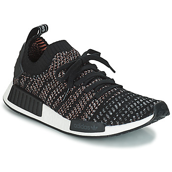 kengät Miehet Matalavartiset tennarit adidas Originals NMD_R1 STLT PK Black / Grey