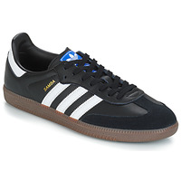 kengät Miehet Matalavartiset tennarit adidas Originals SAMBA OG Black / White