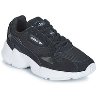kengät Naiset Matalavartiset tennarit adidas Originals FALCON W Black