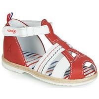 kengät Lapset Sandaalit ja avokkaat GBB COCORIKOO Punainen