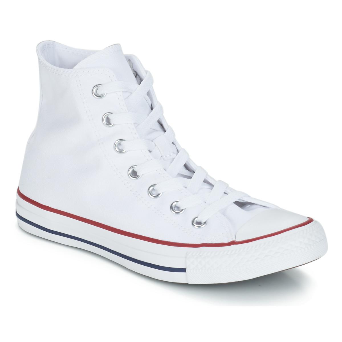 Converse CHUCK TAYLOR ALL STAR CORE HI White - Ilmainen toimitus  osoitteessa Spartoo.fi! ! - kengät Korkeavartiset tennarit 71 417bbbb0c6