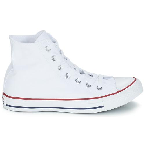 Converse Chuck Taylor All Star Core Hi White - Ilmainen Toimitus- Kengät Korkeavartiset Tennarit