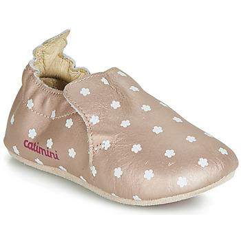 kengät Tytöt Tossut Catimini CARA Vaaleanpunainen / Kulta