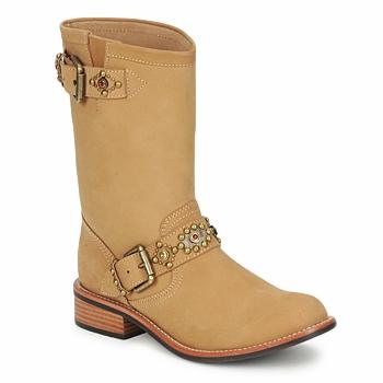 kengät Naiset Bootsit Miss L'Fire MCQUEEN Beige