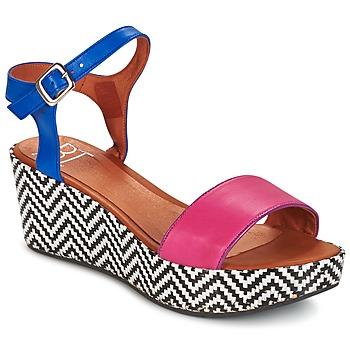 kengät Naiset Sandaalit ja avokkaat Betty London COQUETTE Fuksia / Blue