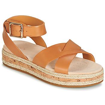 kengät Naiset Sandaalit ja avokkaat Clarks BOTANIC POPPY Brown