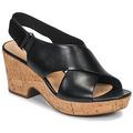 kengät Naiset Sandaalit ja avokkaat Clarks