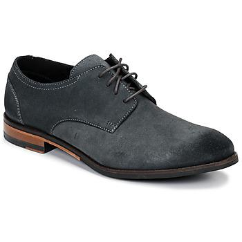 kengät Miehet Derby-kengät Clarks FLOW PLAIN Harmaa