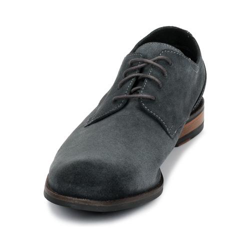 Clarks Flow Plain Grey - Ilmainen Toimitus- Kengät Derby-kengät Miehet 67