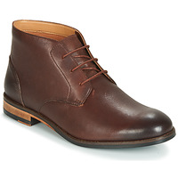 kengät Miehet Bootsit Clarks FLOW TOP Brown