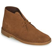 kengät Miehet Bootsit Clarks Desert Boot Brown