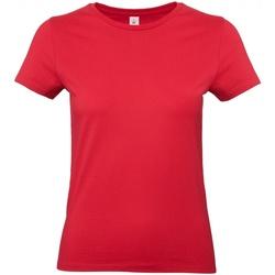 vaatteet Naiset Lyhythihainen t-paita B And C E190 Red