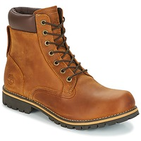 kengät Miehet Bootsit Timberland EK RUGGED 6 IN PLAIN TOE BOOT Brown / Fonce