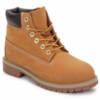 kengät Lapset Bootsit Timberland 6 IN PREMIUM WP BOOT Brown