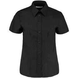 vaatteet Naiset Paitapusero / Kauluspaita Kustom Kit KK360 Black