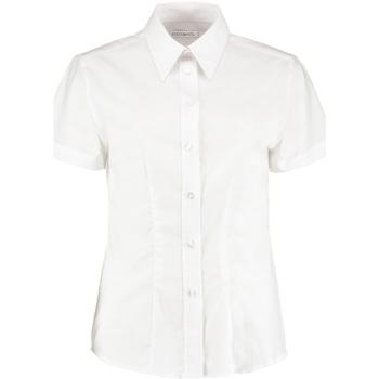 vaatteet Naiset Paitapusero / Kauluspaita Kustom Kit KK360 White