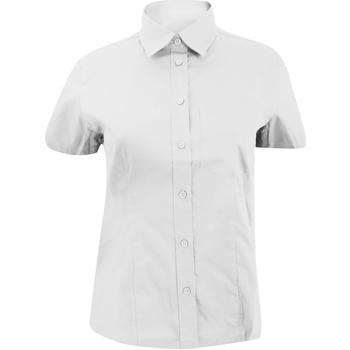 vaatteet Naiset Paitapusero / Kauluspaita Kustom Kit KK719 White