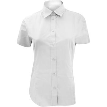 vaatteet Naiset Paitapusero / Kauluspaita Kustom Kit KK728 White