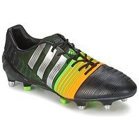 kengät Miehet Jalkapallokengät adidas Performance NITROCHARGE 1.0 SG Black / Yellow