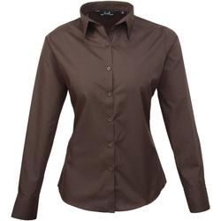 vaatteet Naiset Paitapusero / Kauluspaita Premier PR300 Brown