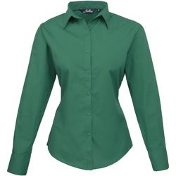 vaatteet Naiset Paitapusero / Kauluspaita Premier PR300 Emerald