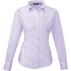 vaatteet Naiset Paitapusero / Kauluspaita Premier PR300 Lilac