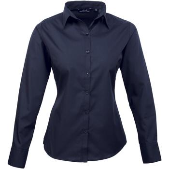 vaatteet Naiset Paitapusero / Kauluspaita Premier PR300 Navy